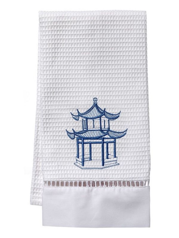 DG02-PAGBL** Guest Towel, Waffle Weave - Pagoda (Blue)