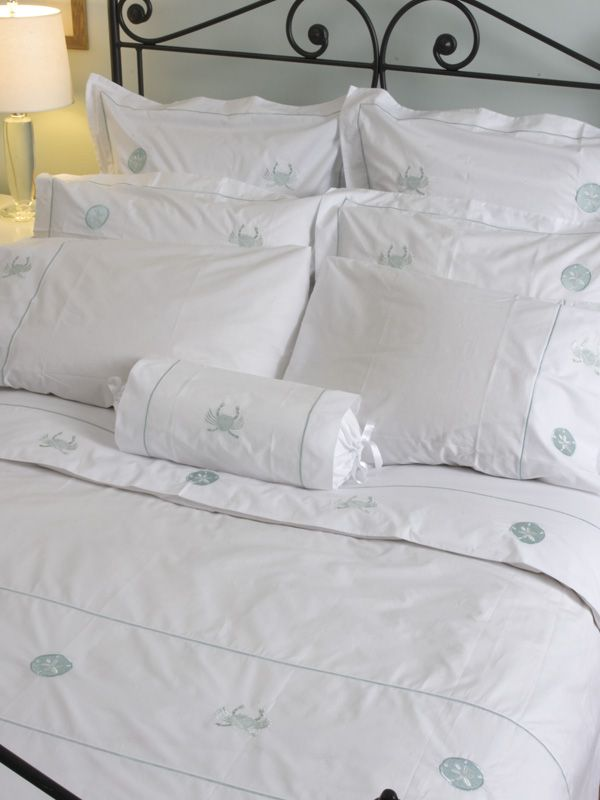 Bed Pillow Cover (King) - Embroidered