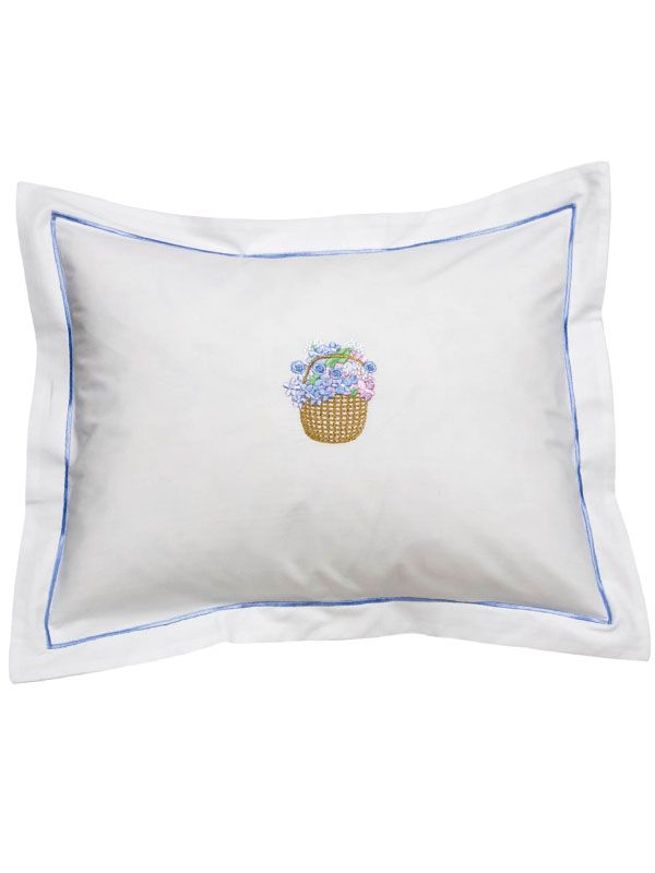 DG78-NBKT Boudoir Pillow Cover - Nantucket Basket