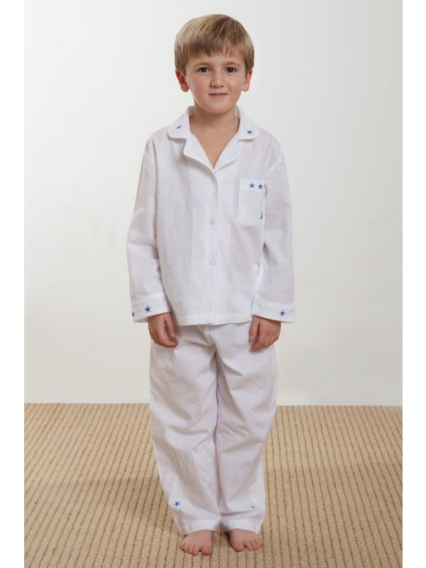 Moon & Stars (Boys) 2-Piece Pants Set** - EL220