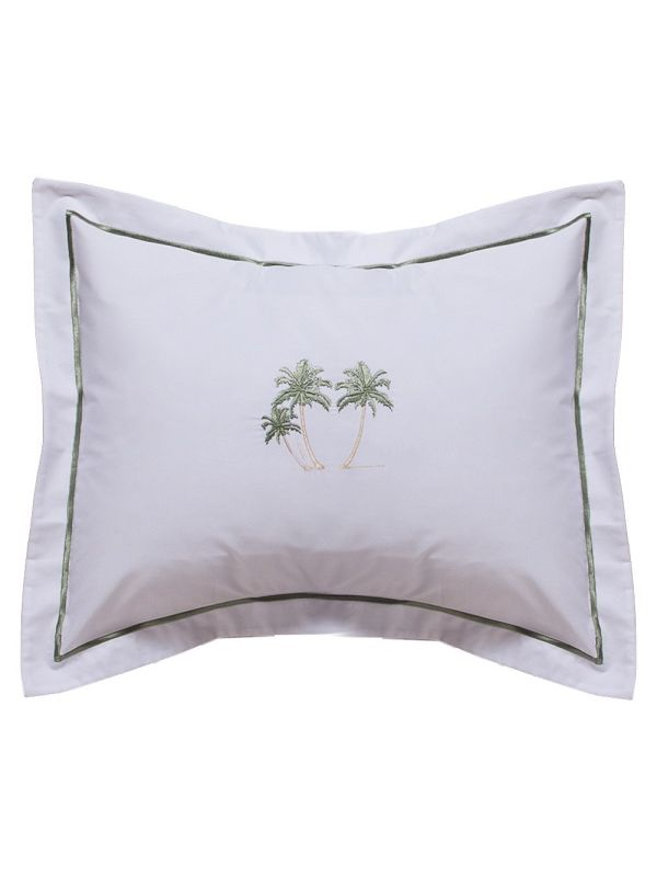 DG78-TPT** Boudoir Pillow Cover - Three Palm Trees (Green)