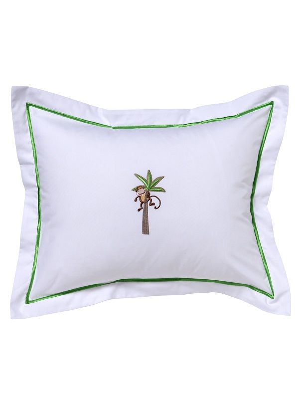 DG81-MIPT Baby Boudoir Pillow Cover - Monkey in Palm Tree