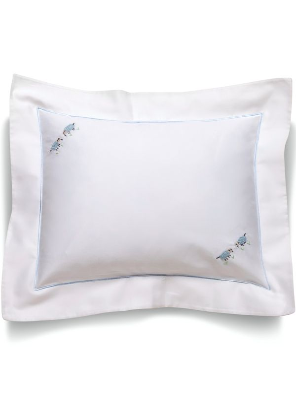 Boudoir Pillow Covers (For Children & Monogramming)** - Hand Embroidered