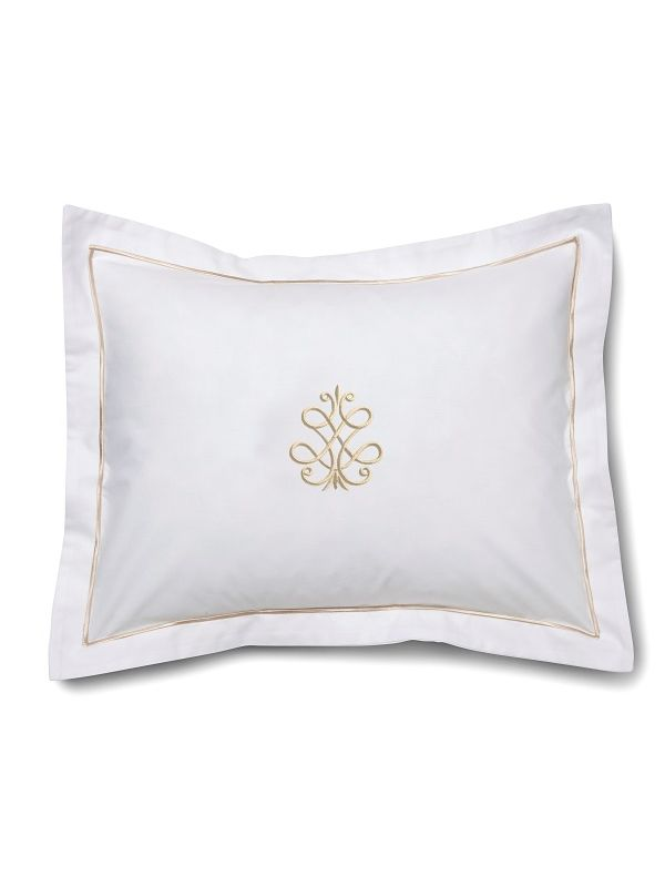 DG78-FSBE** Boudoir Pillow Cover - French Scroll (Beige)