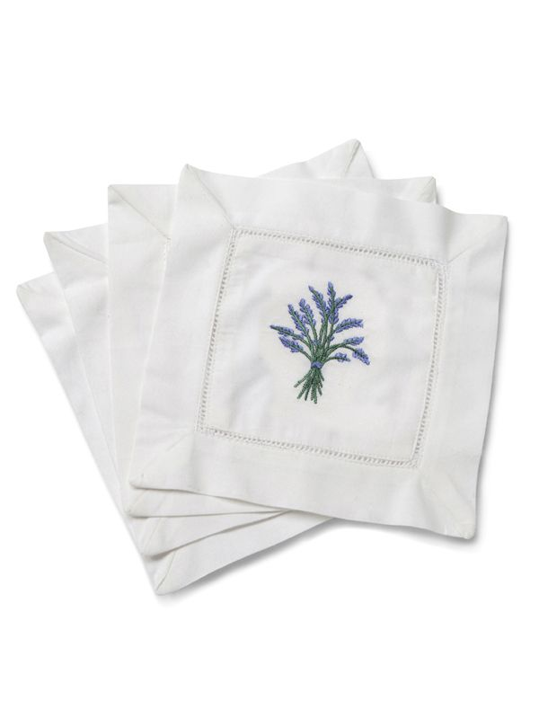 LG82-BHBL Cocktail Napkins - Heather (Blue)**. Set of 4