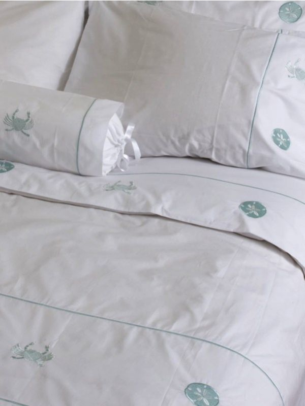 Duvet Cover (King) - Embroidered
