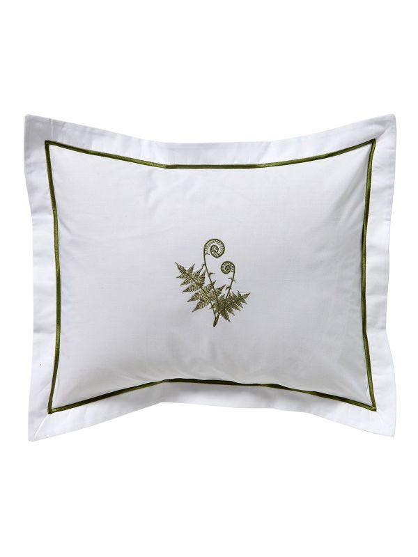 DG78-FFO Boudoir Pillow Cover - Fiddlewood Fern (Olive)