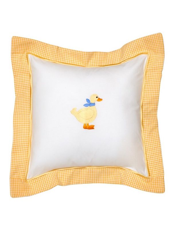 Baby Throw Pillow Cover - Embroidered