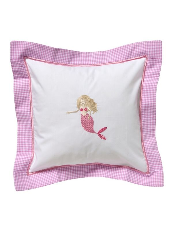 DG136-MMPK Baby Pillow Cover - Mermaid (Pink)