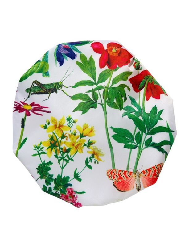 Shower Cap, Botanical Design** - RH114-BOT