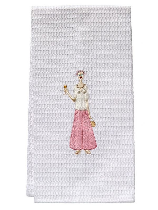 DG03-CLPK Guest Towel - Waffle Weave - Champagne Lady (Pink)