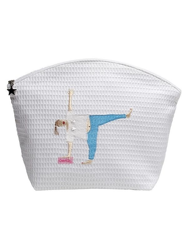 DG07-YCL Cosmetic Bag (Large) - Yoga Cookies Lady