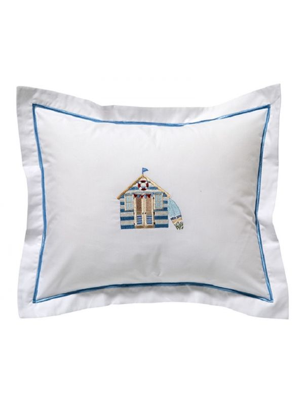 DG78-BCB Boudoir Pillow Cover - Beach Cabana