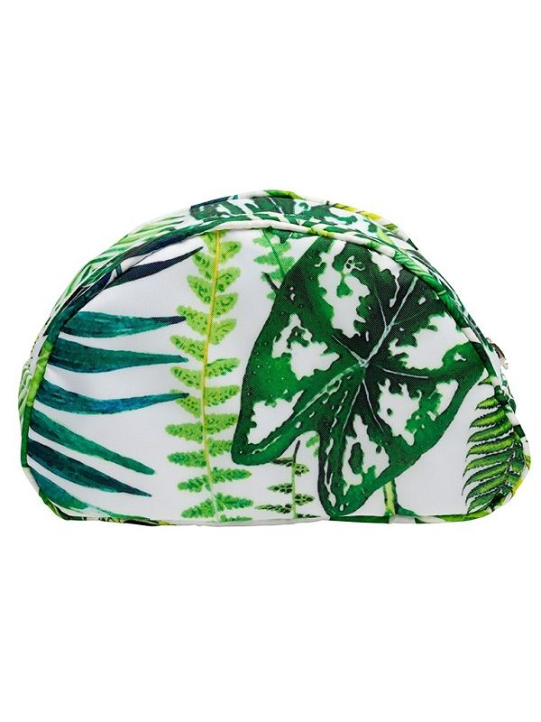 Cosmetic Bag (Large), Tropical Leaf - RH113-TL