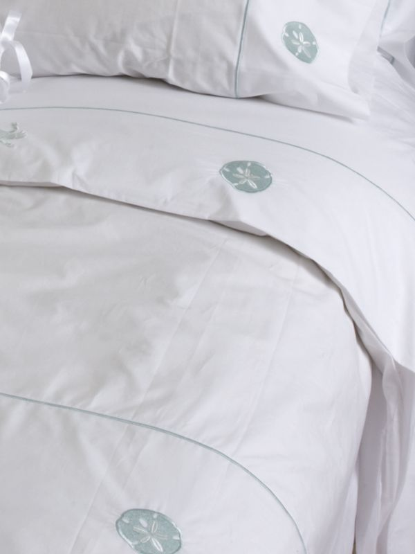 Duvet Cover (Twin) - Embroidered