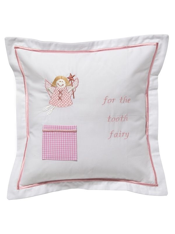 DG131-FUFPK Tooth Fairy Pillow Cover - Funky Fairy (Pink)