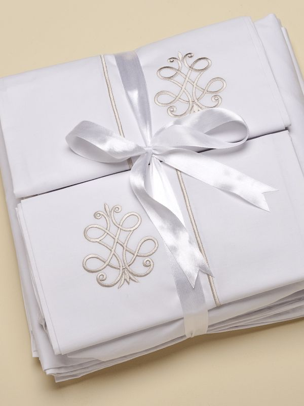 Sheet Set (Twin) - Embroidered