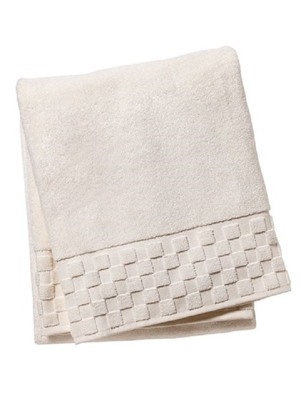 Bath Towel** - Ivory Turkish Cotton Terry