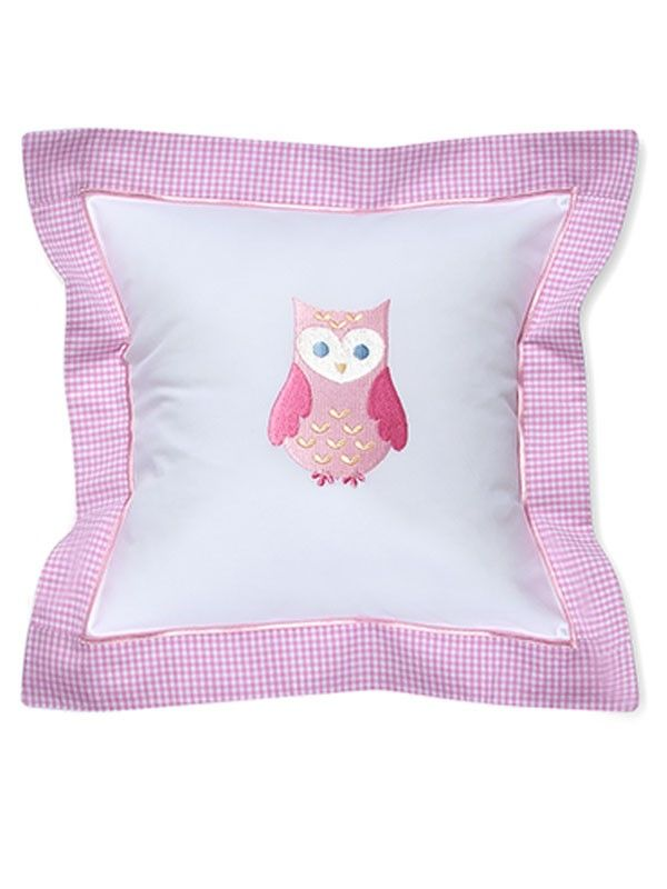 DG136-OP Baby Pillow Cover - Owl (Pink)**