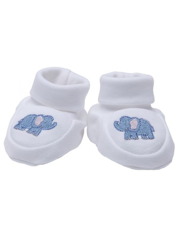 RW33-EB Booties** - Elephant (Blue)