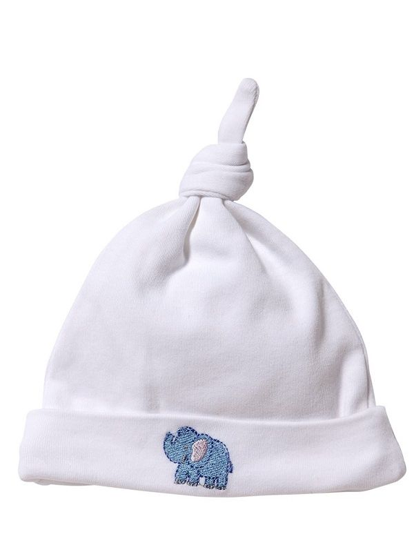 RW37-EB Knotted Hat** - Elephant (Blue)