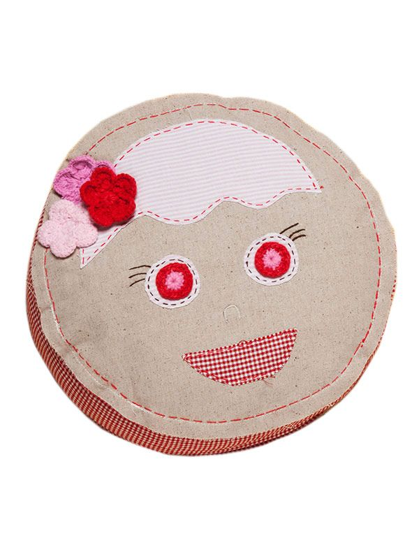 LL668 Round Face Pillow**