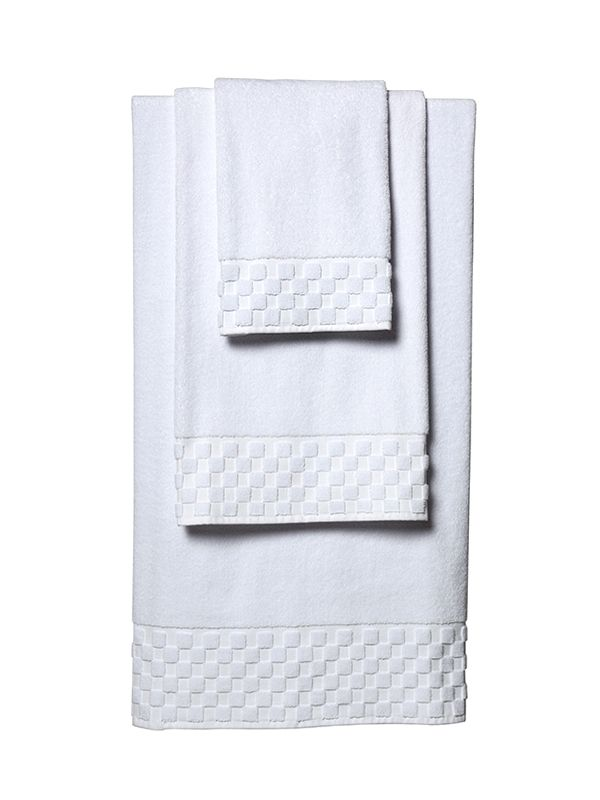 Bath Towel Set** - White Turkish Cotton Terry