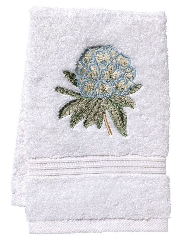 DG70-HYDE** Guest Towel, Terry - Hydrangea (Duck Egg Blue)
