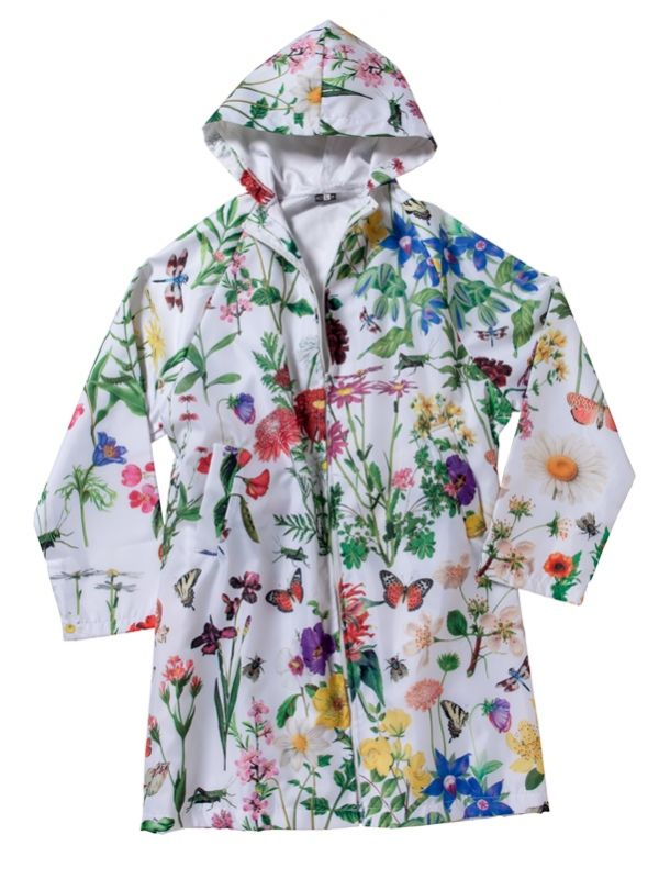 Raincoat, Botanical Design - RH122-BOT